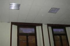 Scuola Media Zani (particolare, finitura soffitto)