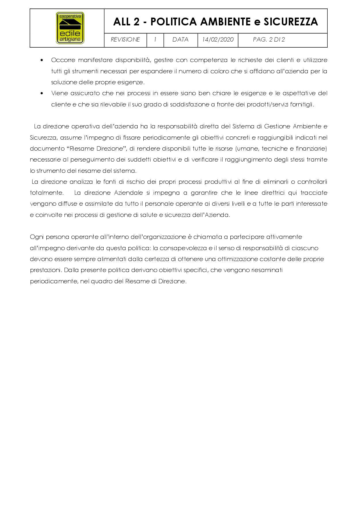 POLITICA AMBIENTE e SICUREZZA2